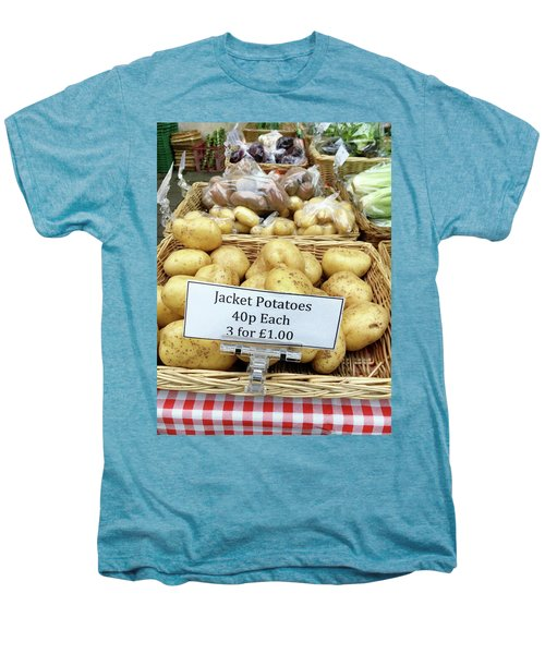Potatoes At The Market  Men's Premium T-Shirt