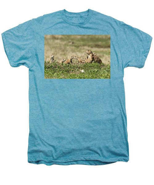 Prairie Dog Family 7270 Men's Premium T-Shirt