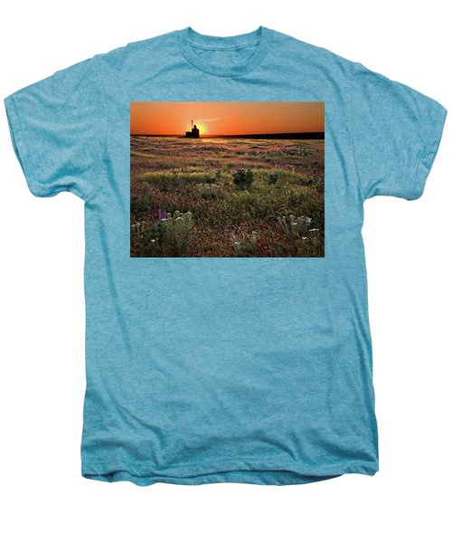 Prairie Sunset Men's Premium T-Shirt