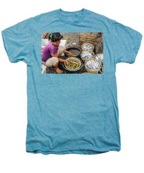 Preparing Pindang Tongkol Men's Premium T-Shirt by Werner Padarin