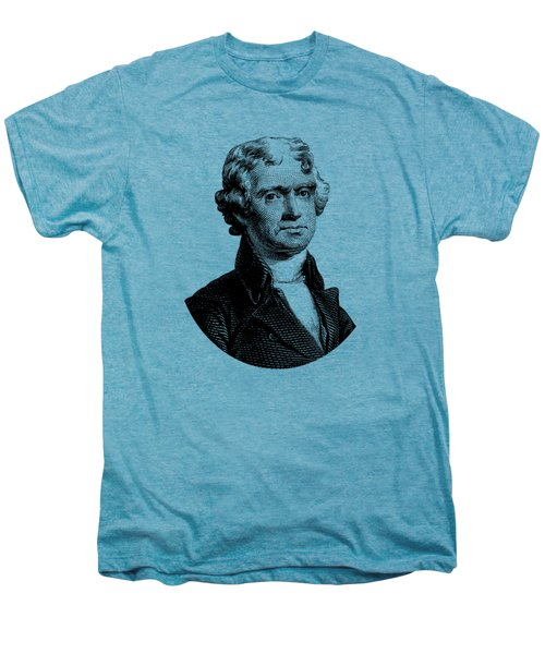 President Thomas Jefferson Graphic Men's Premium T-Shirt by War Is Hell Store