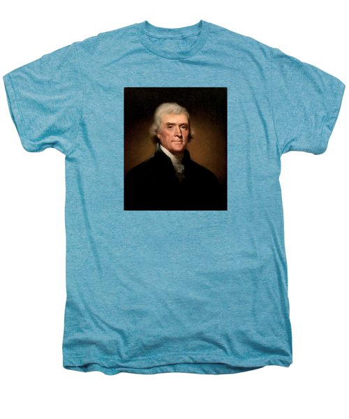 President Thomas Jefferson  Men's Premium T-Shirt by War Is Hell Store