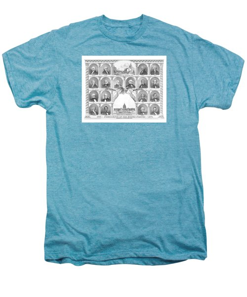 Presidents Of The United States 1776-1876 Men's Premium T-Shirt