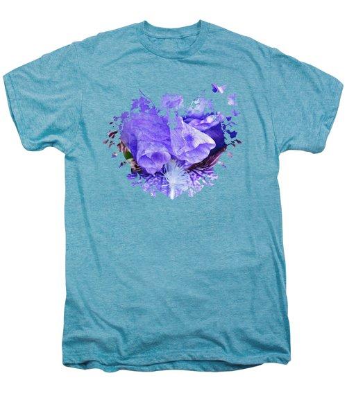 Pretty Purple Men's Premium T-Shirt by Anita Faye