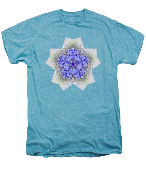 Pretty Wisteria Kaleidoscope By Kaye Menner Men's Premium T-Shirt