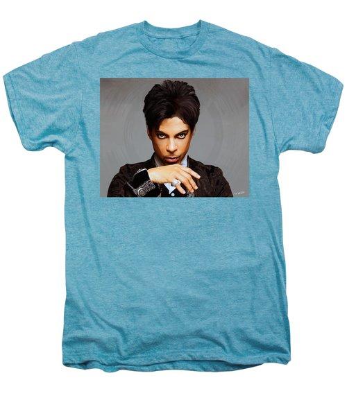 Prince Men's Premium T-Shirt by Paul Tagliamonte