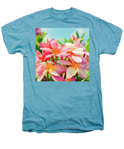 Pua Melia Ke Aloha Maui Men's Premium T-Shirt