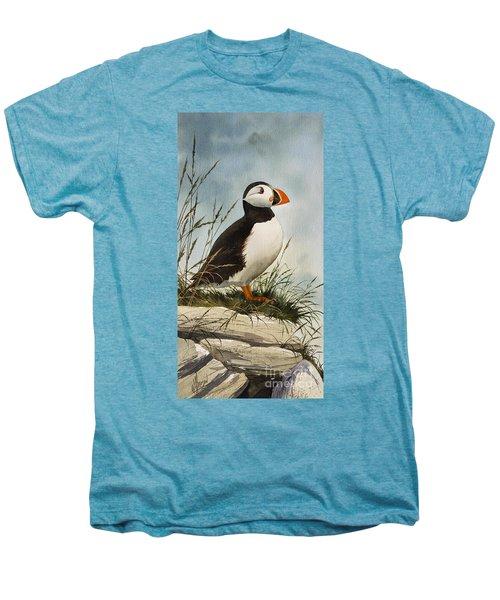 Puffin Men's Premium T-Shirt
