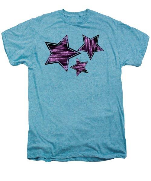 Purple Lightening Men's Premium T-Shirt