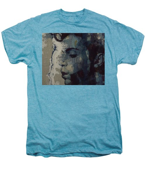 Purple Rain - Prince Men's Premium T-Shirt by Paul Lovering