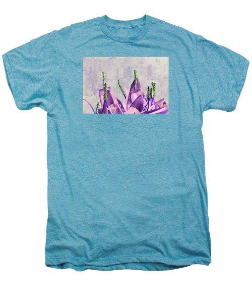 Purple Water Plant Men's Premium T-Shirt