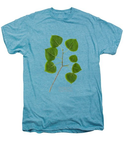 Men's Premium T-Shirt featuring the photograph Quaking Aspen by Christina Rollo