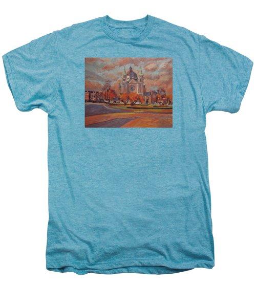 Queen Emma Square In Autumn Colours Men's Premium T-Shirt by Nop Briex