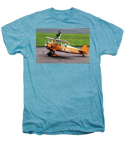 Raf Scampton 2017 - Breitling Wingwalkers At Rest Men's Premium T-Shirt
