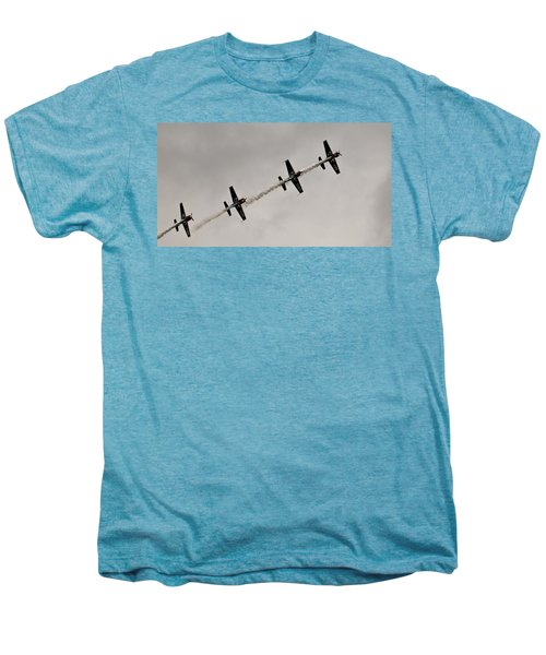 Raf Scampton 2017 - Global Stars In A Line Men's Premium T-Shirt