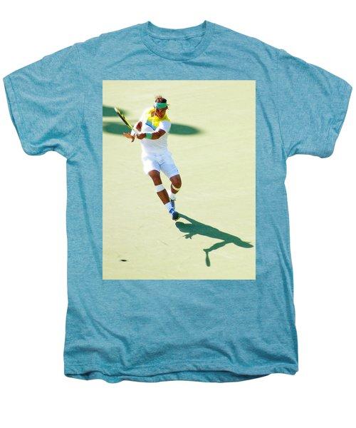 Rafael Nadal Shadow Play Men's Premium T-Shirt