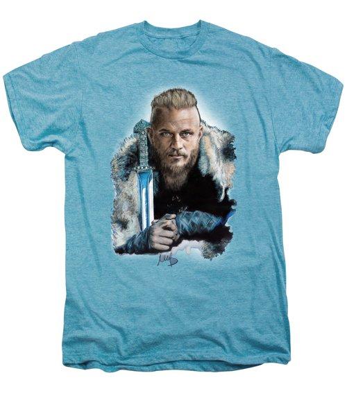 Ragnar Lothbrok Men's Premium T-Shirt by Melanie D