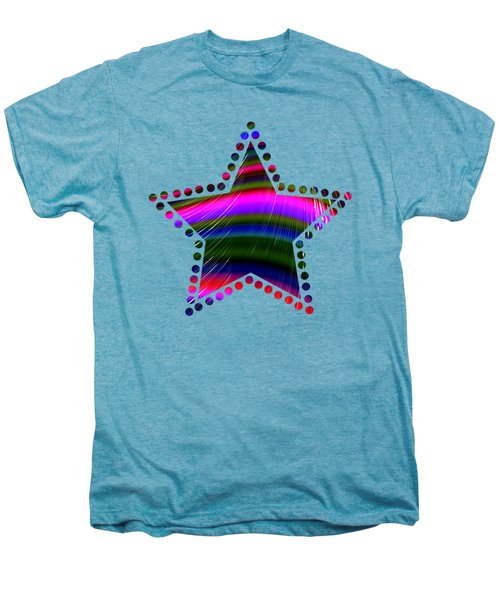 Rainbow Waves Men's Premium T-Shirt