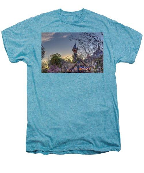 Rapunzel's Tower At Sunset Men's Premium T-Shirt