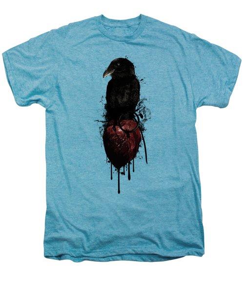 Raven And Heart Grenade Men's Premium T-Shirt
