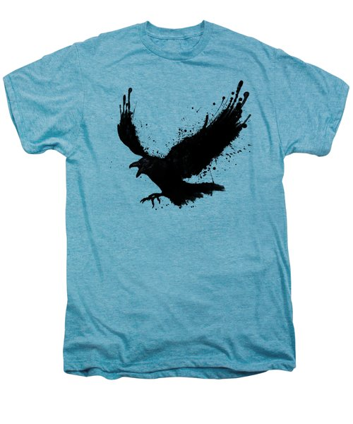 Raven Men's Premium T-Shirt by Nicklas Gustafsson