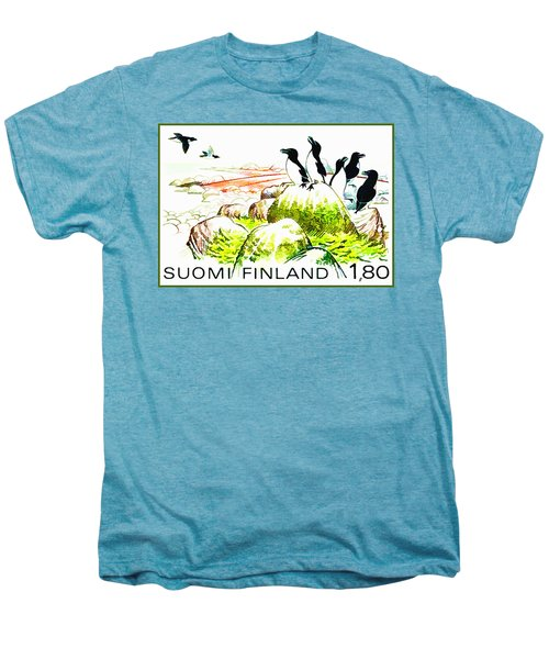 Razorbills Men's Premium T-Shirt by Lanjee Chee