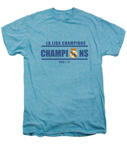 Real Madrid La Liga Champions  Men's Premium T-Shirt by Ipoy Juki