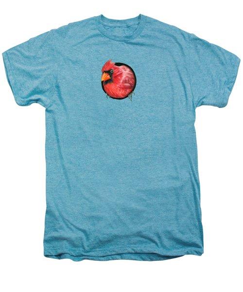 Red And Green Men's Premium T-Shirt by Sarah Batalka