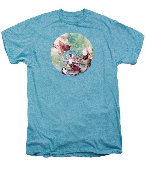 Red Birds In Winter Men's Premium T-Shirt