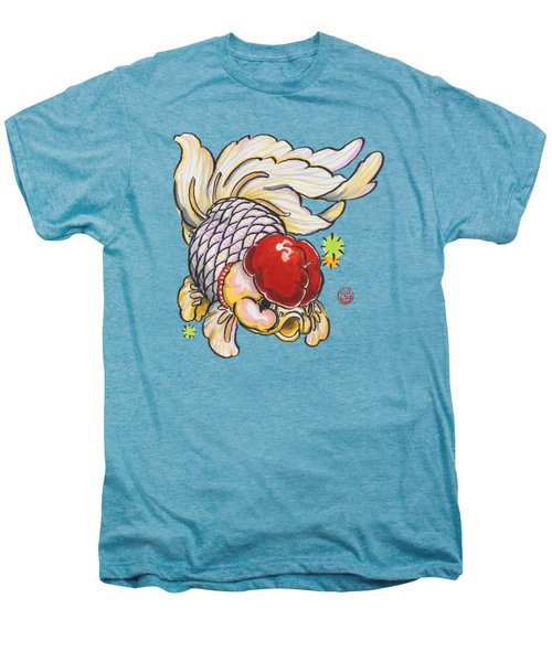 Red Cap Mixed Ranchu Men's Premium T-Shirt by Shih Chang Yang