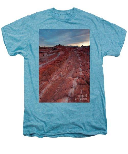 Red Ribbon Sunset Men's Premium T-Shirt