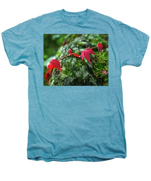 Men's Premium T-Shirt featuring the photograph Red Vine by Bill Pevlor