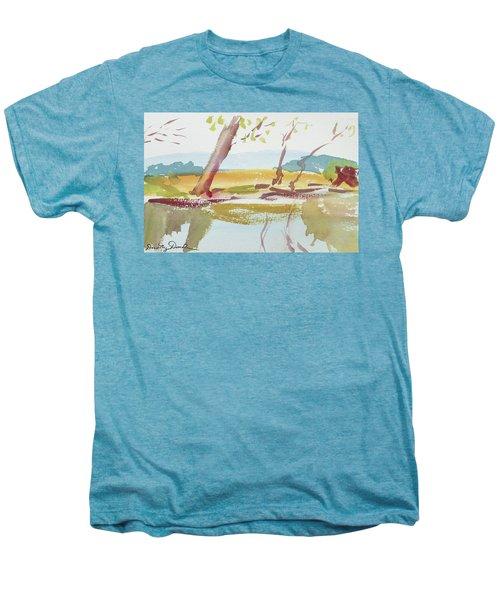 Quiet Stream Men's Premium T-Shirt