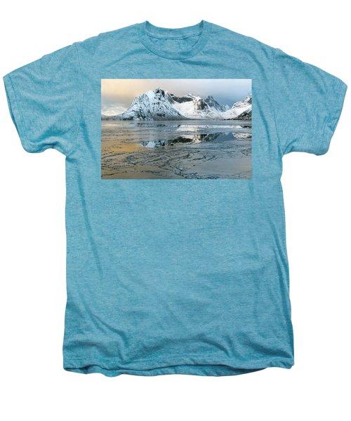 Reine, Lofoten 5 Men's Premium T-Shirt by Dubi Roman