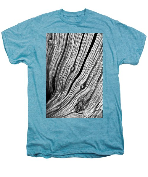Men's Premium T-Shirt featuring the photograph Ridges - Bw by Werner Padarin