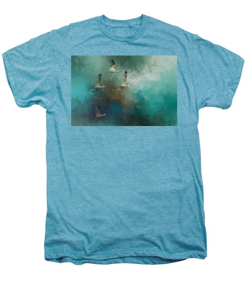 Riding The Winds Men's Premium T-Shirt by Marvin Spates
