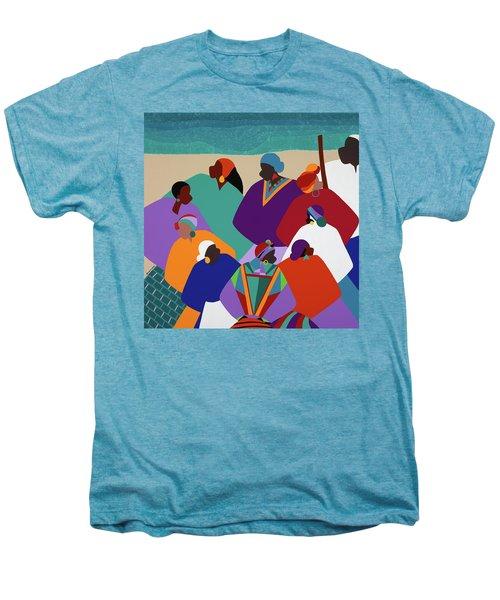 Ring Shout Gullah Islands Men's Premium T-Shirt