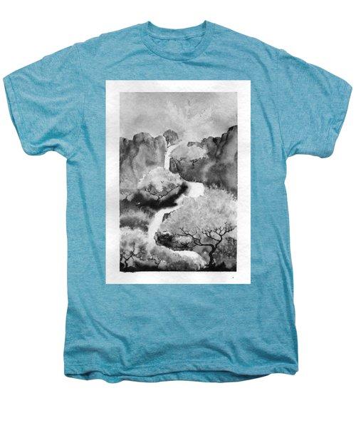 Riviere Celeste Men's Premium T-Shirt by Marc Philippe Joly