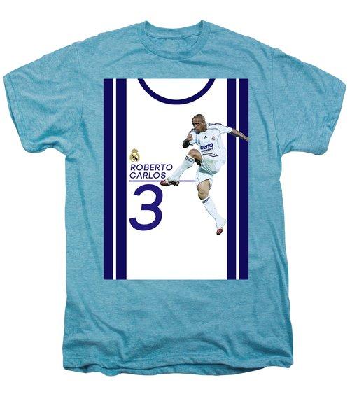 Roberto Carlos Men's Premium T-Shirt by Semih Yurdabak