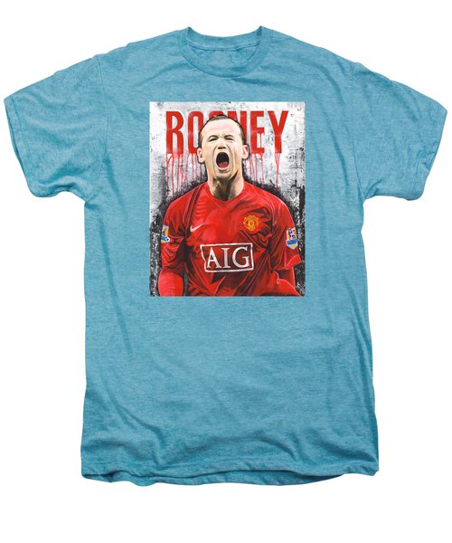 Rooney Men's Premium T-Shirt by Jeff Gomez