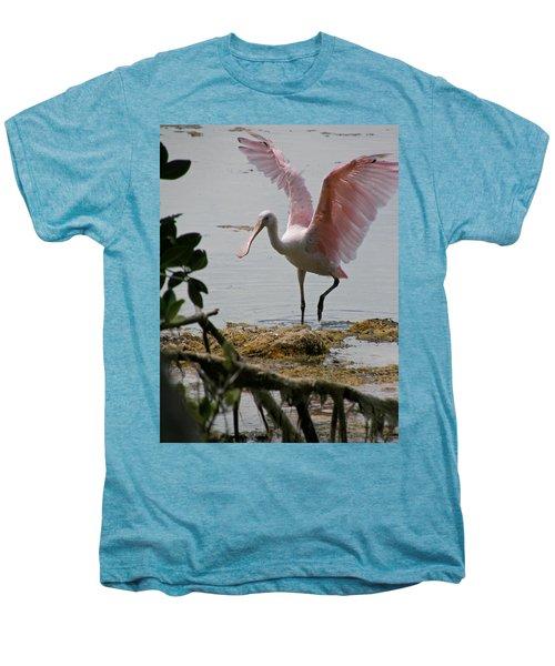 Roseate Wave Men's Premium T-Shirt