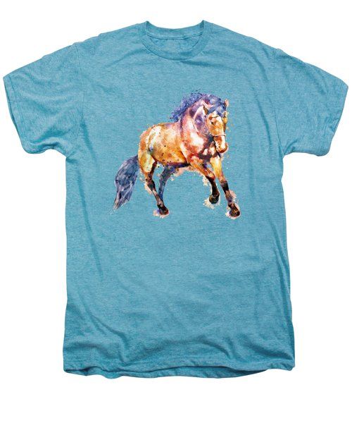 Running Horse Men's Premium T-Shirt