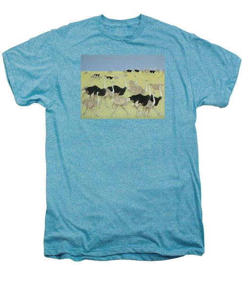 Rush Hour Men's Premium T-Shirt by Pat Scott