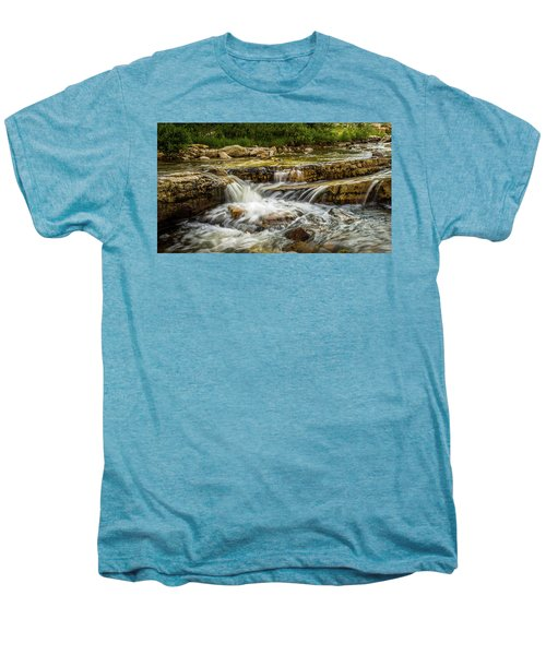 Rushing Waters - Upper Provo River Men's Premium T-Shirt