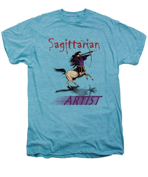 Sagittarian Artist Men's Premium T-Shirt by Joseph Juvenal