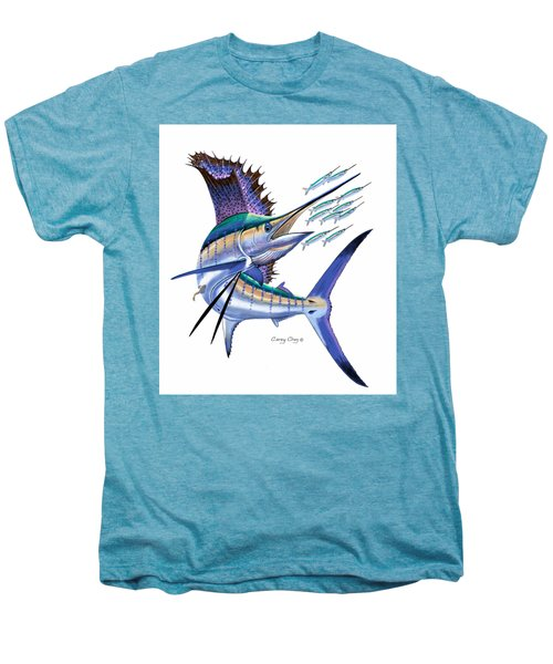 Sailfish Digital Men's Premium T-Shirt by Carey Chen