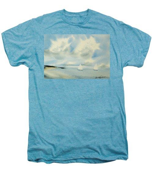 Sailing Into A Calm Anchorage Men's Premium T-Shirt