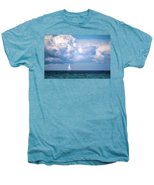 Sailing Under The Clouds Men's Premium T-Shirt