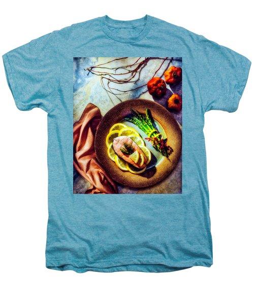 Salmon Dinner Men's Premium T-Shirt