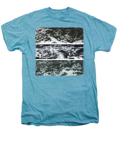 Saltwater Triptych Variation 3 Men's Premium T-Shirt